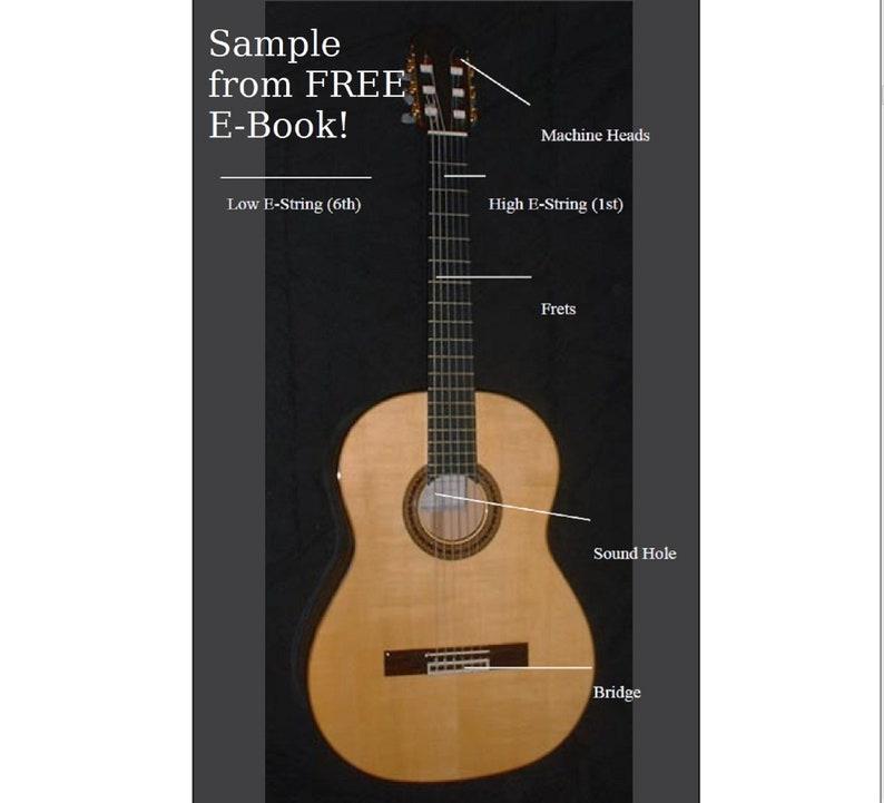Printable Blank Guitar Fretboard Guitar Neck Chart Instant ...