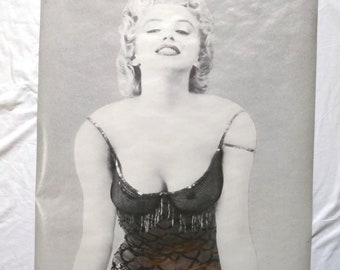 Vintage Marylin Monroe Life Size Poster, 1976 Portal Publications, Pin Up