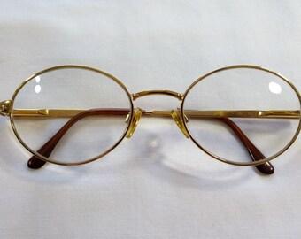 5d540b4ec1 Vintage Vogue Metal Eyeglasses Frames