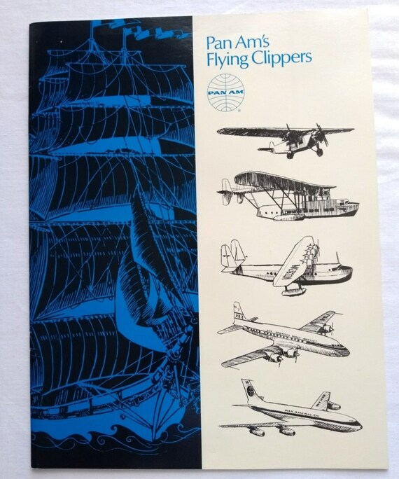 Vintage 1960/'s Pan Am Flights To England Airline Poster A3 Print