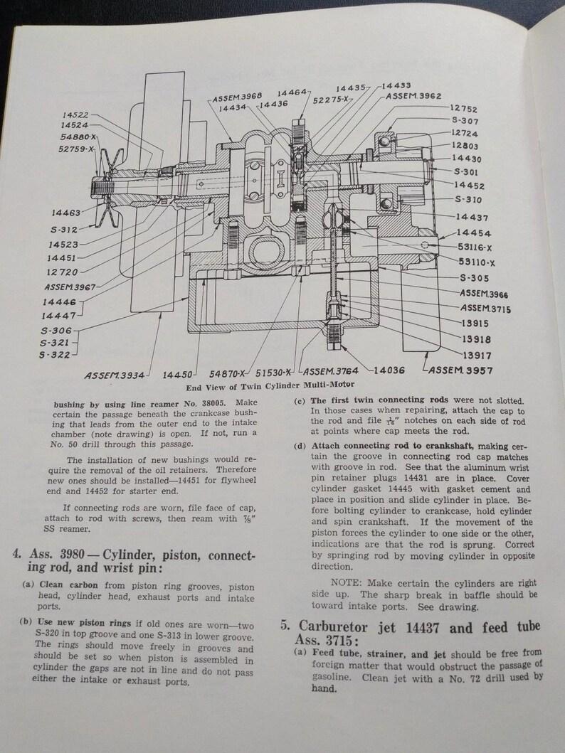 Maytag Service Manual Booklet, Wico Magneto Model FW-1718 Model 82 92 Multi  Motor