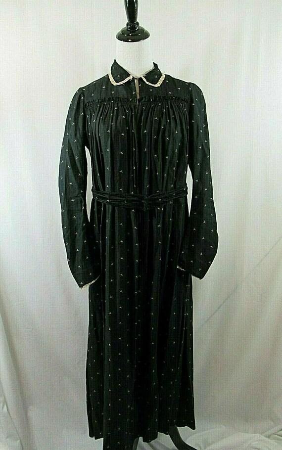 19th Century Calico Praire Dress, True Antique, 18