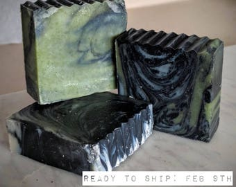 Tea Tree Charcoal Soap 100% Natural