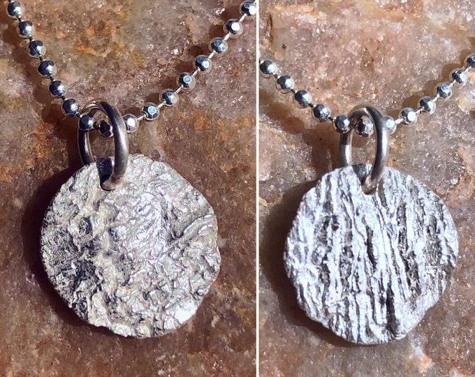 oak bark pendant