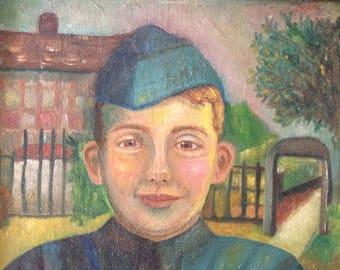 Boy Scout Portrait