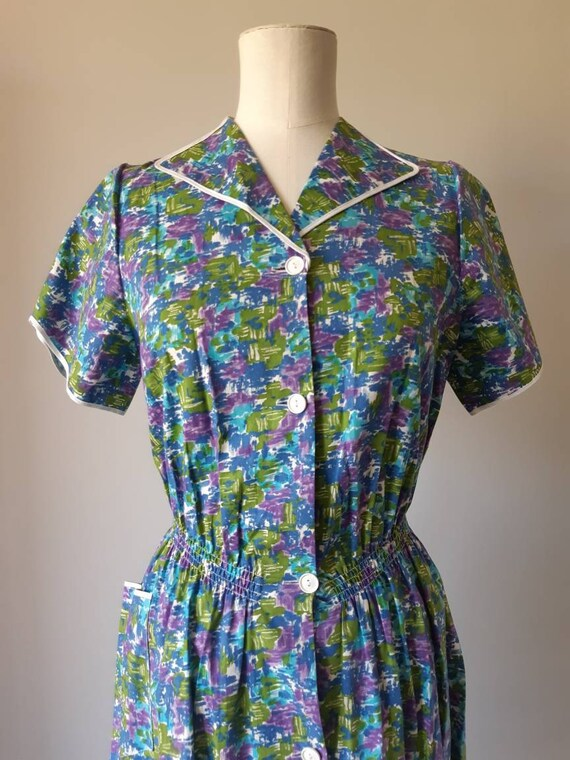 1940s style day dress