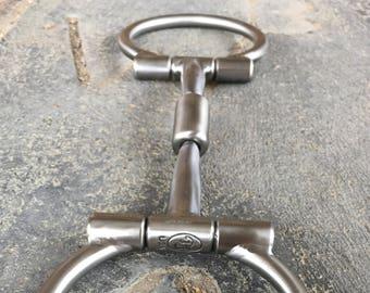 Equine Snaffle Bit #358 Baseline D-Ring Billy Allen By Tom Balding Horse Tack