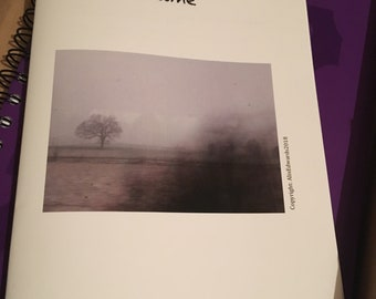 The write time zine issue 2. Poetry and prose zine.