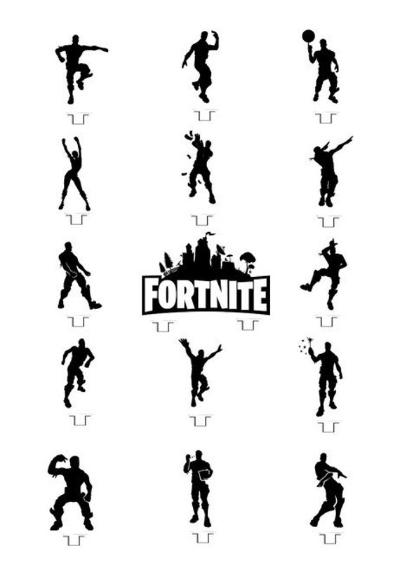Impertinent image throughout fortnite printable pictures