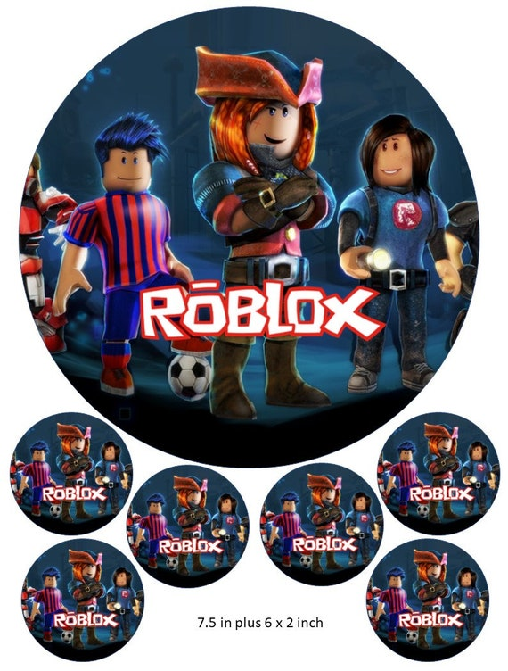 Roblox Xbox Login - Roblox Cake And Cupcake Toppers Gaming Xbox Ps4 Pc Gaming