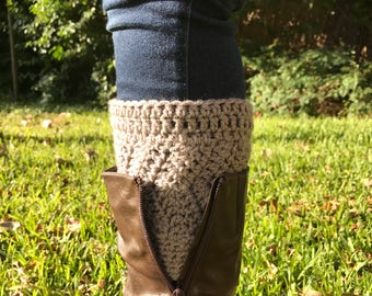 Crochet Boot Cuff/Headband Set