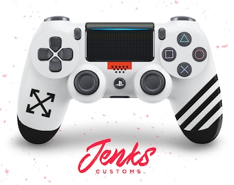 OFF-WHITE Inspired Custom PS4 Controller b59abc81de