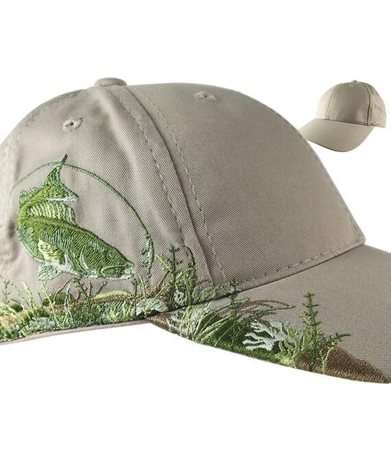 Custom Personalized Walleye Large Embroidery on Adjustable  8352151ed004