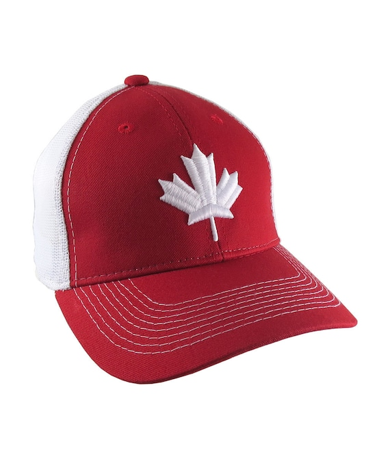 Canada Established 1867 Retro Style Maple Leaf Green Embroidery on an Adjustable Khaki Green Unstructured Baseball Cap Dad Hat