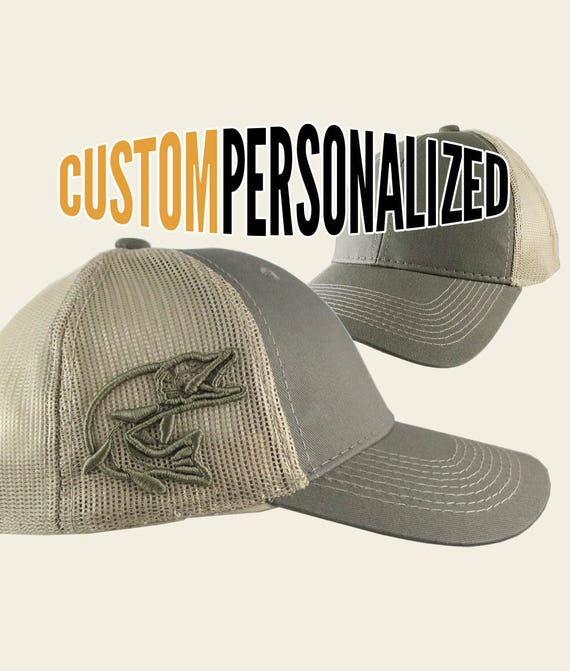 Custom Personalized Pike 3D Puff Embroidery on an Adjustable  597cc12c74df