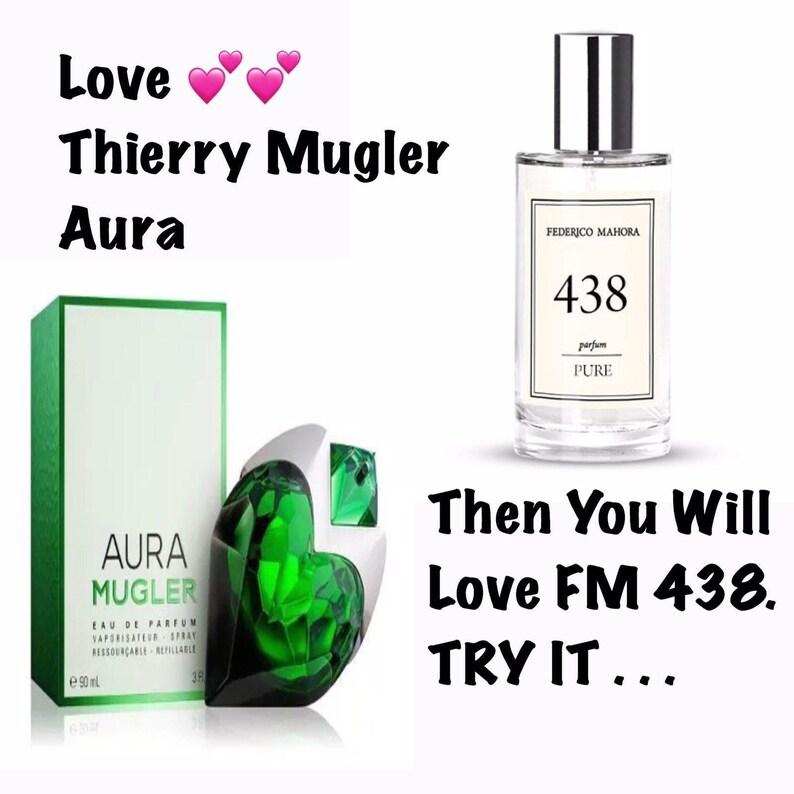 438 Parfum Similar To Mugler Aura Perfume 50ml Etsy