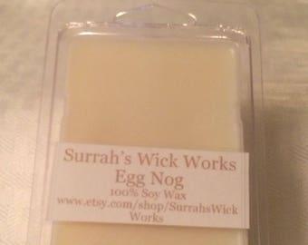 Egg Nog Scented Soy Wax Melt