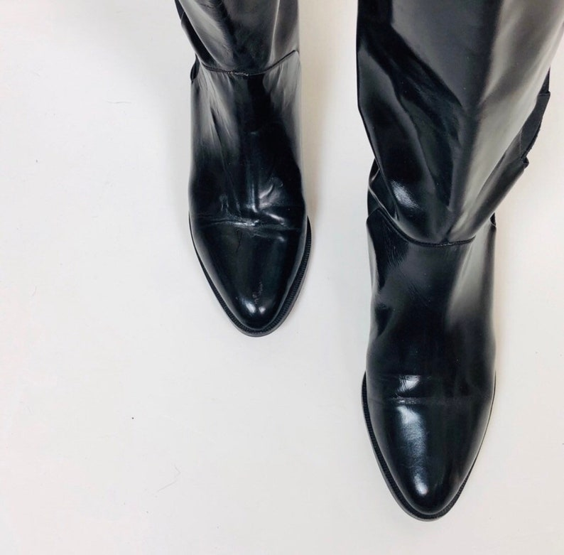 VTG Lord /& Taylor Genuine Leather Boots