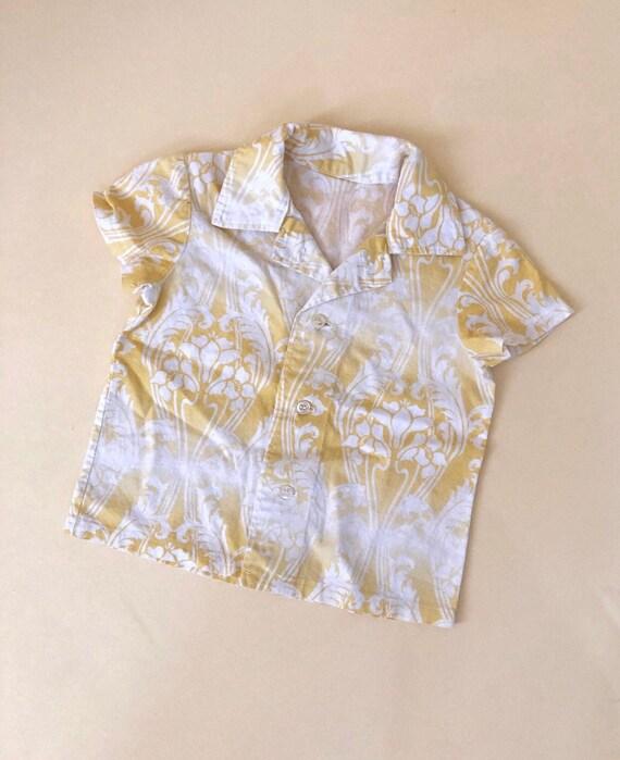 Vintage Kids Hawaiian Shirt
