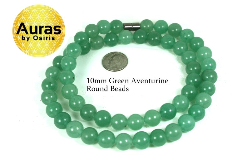 Necklaces for WomenMen Aventurine Crystals Jewelry Beaded Jade Aventurine Stone Choker Green Aventurine Crystal Necklace