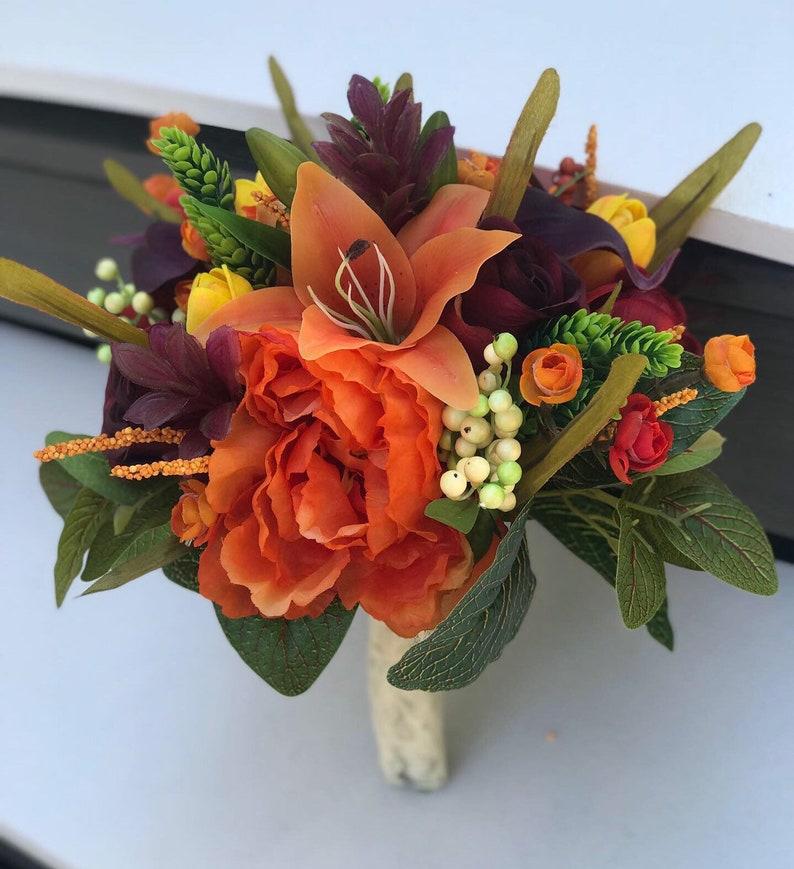 Wedding Flowers Bridal Flowers Wedding Bouquets Silk Etsy