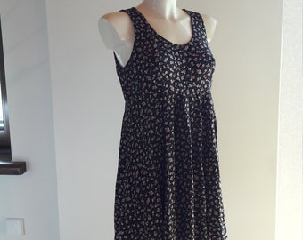 90s All that Jazz tiny floral print babydoll dress