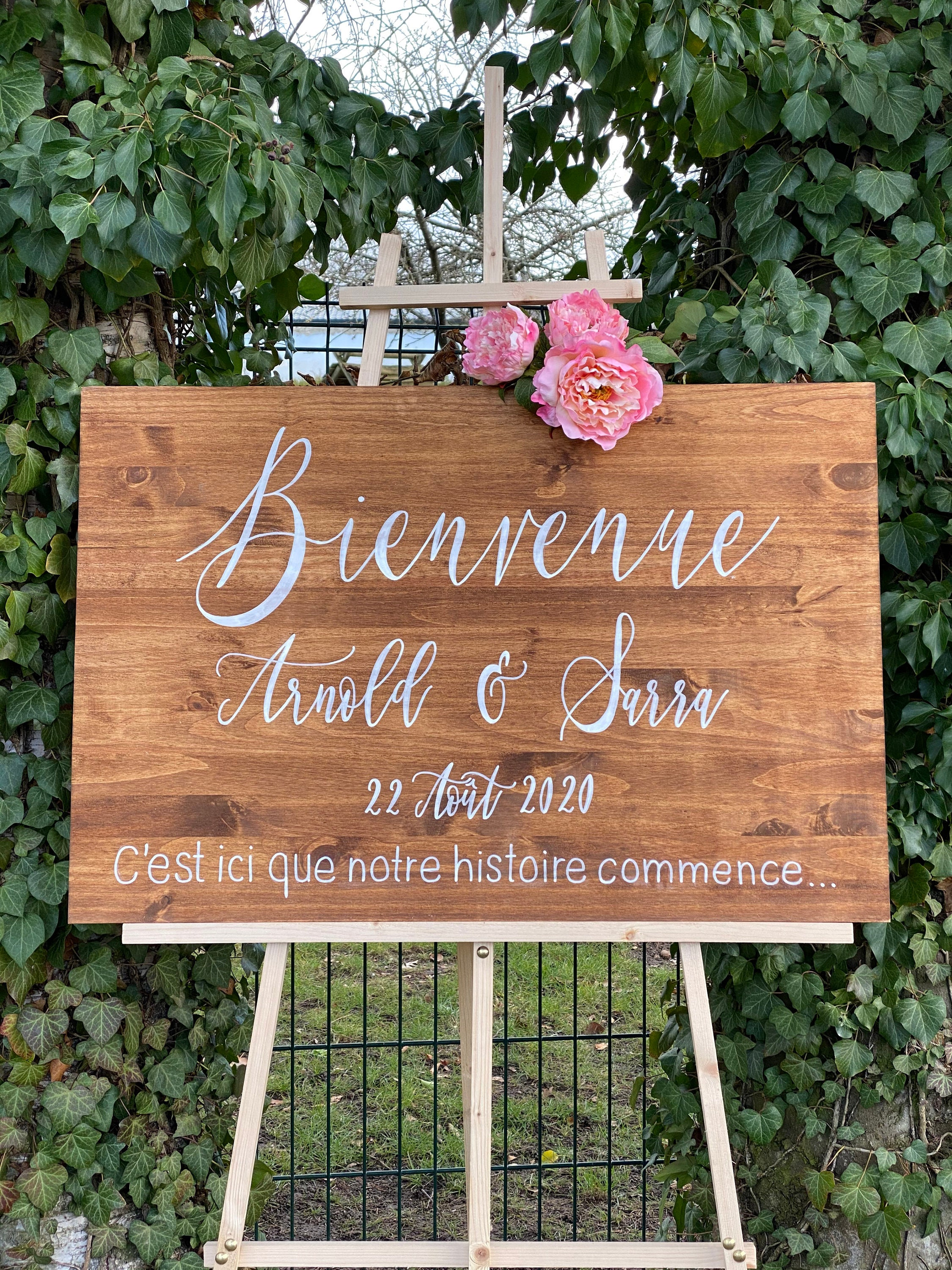 Welcome panel for 20 TEXTS LINES   wedding reception sign, welcome ...