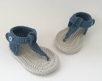 69ae8de87 Baby boy blue summer sandals