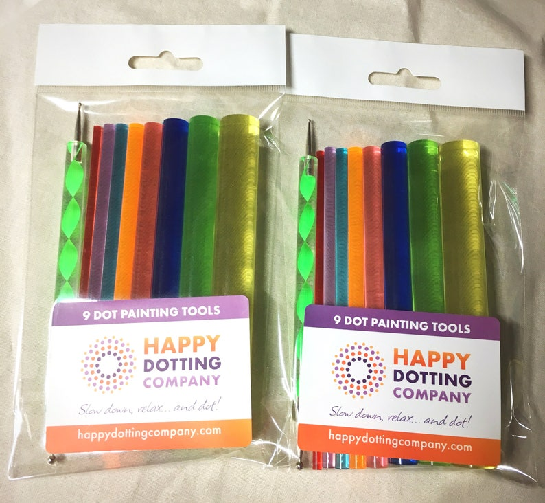 2 Sets Double Deal Dot Painting Tools Etsy