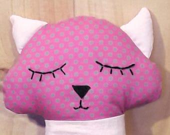 Cat small polka dots