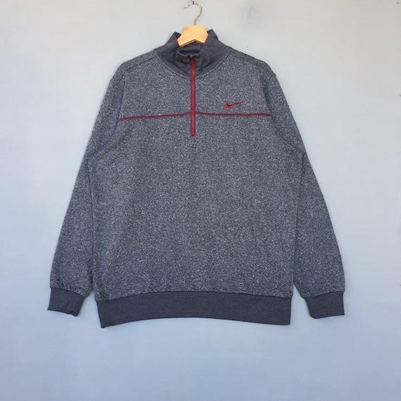 Vintage nike sweatshirt Half zip pullover jumper s