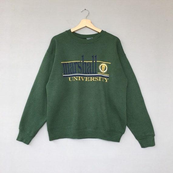 Vintage Marshall University Sweatshirt / Universit