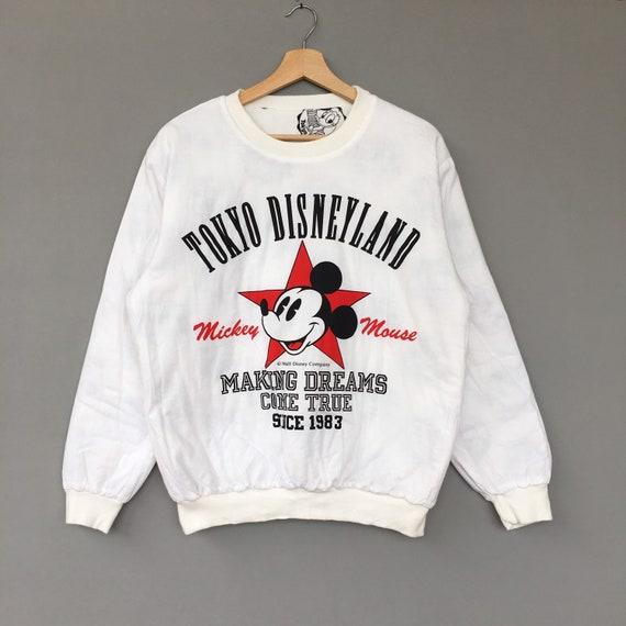 Rare!!! Mickey Mouse Tokyo Disneyland  Sweatshirt