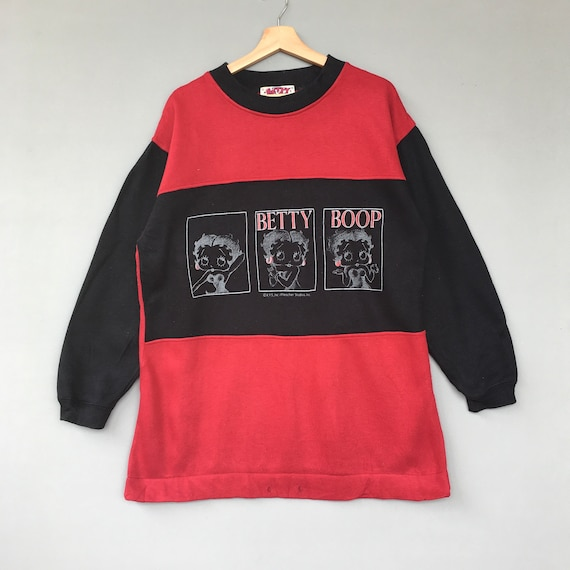 Vintage Cartoon Sweatshirt Betty Boop Sweatshirt /