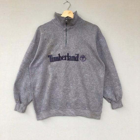 Vintage Timberland Sweatshirt Half Zip Pullover Ju