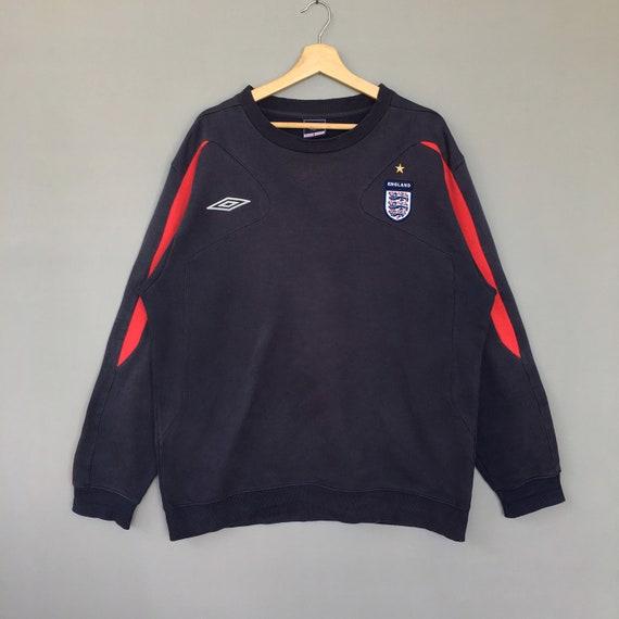 Rare!! Vintage Umbro England Sweatshirt Crew neck