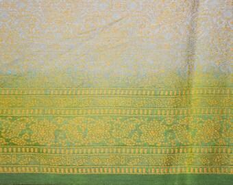 Vintage Pure Tussar Silk Sari Hand Woven Saree Handspun Tossor Indian Shawl Woman Wedding Dress Heavy Fancy Decor Long Curtain TSS1817