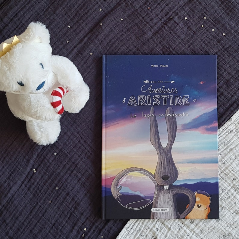 Children's book The adventures of Aristide the cosmonaut image 0