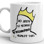Accountant Mug Notorious BIG Juicy - No Need to Worry My Accountant Handles That, Accounting Mug, Accountant Gift Biggie, Brooklyn Mug