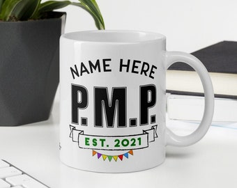 Project Management Professional Personalized Mug Gift PMP