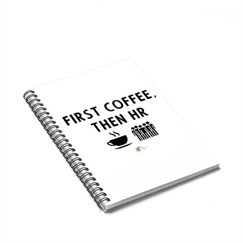 Human Resources Notebook  First Coffee Then HR image 0