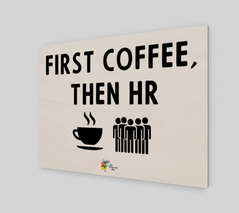 Human Resources Wall Art Print on Birch Wood Panel  First image 0