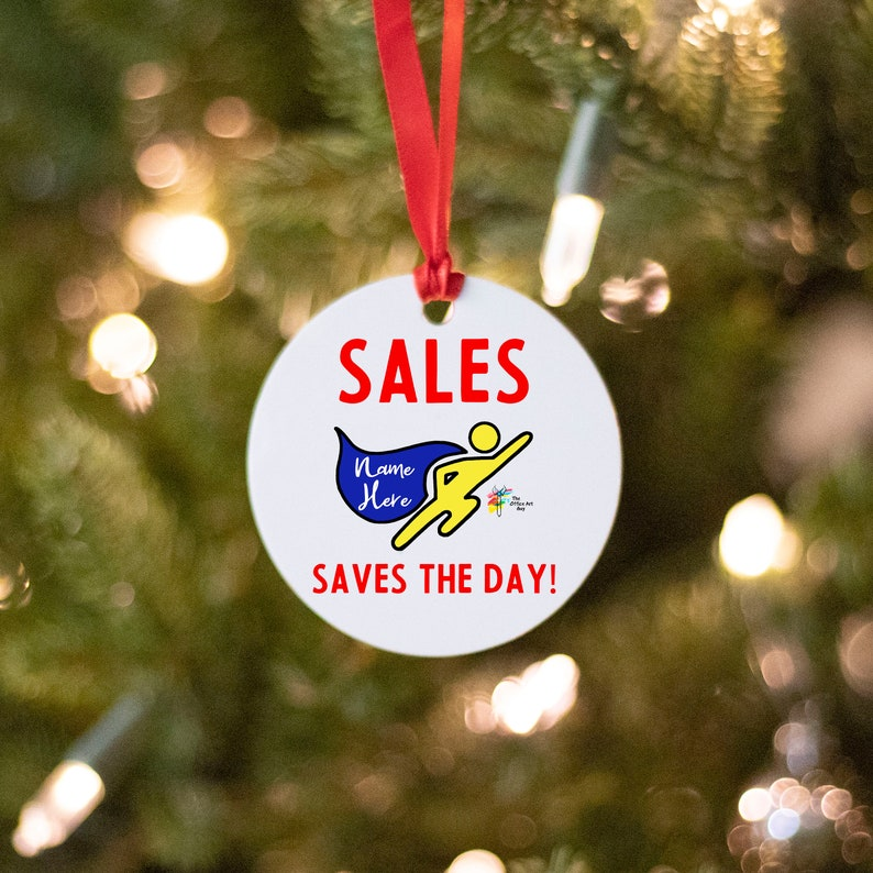 Sales Ornament Personalized image 0