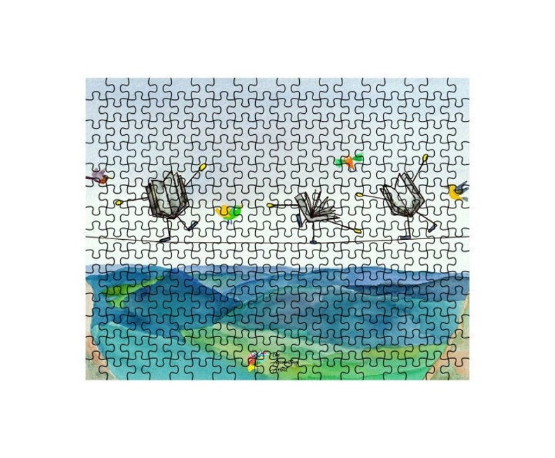 Puzzle For Accountant Gift 10x14 inch