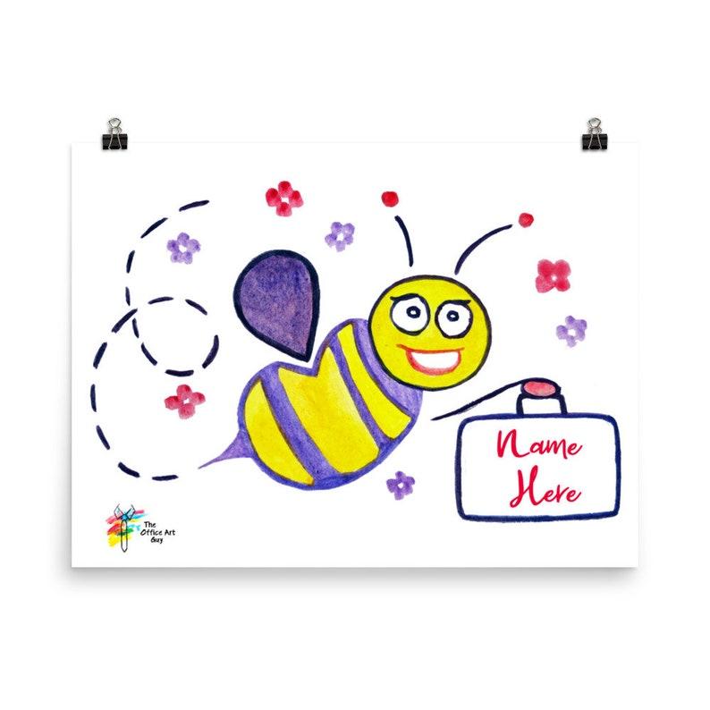 Custom Staff Art Worker Bee Female image 0