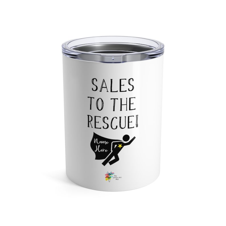 Sales to the Rescue Stainless Steel Tumbler Gift for Sales image 0