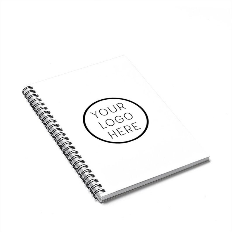 Promotional Products Spiral Notebook with Company Logo image 0