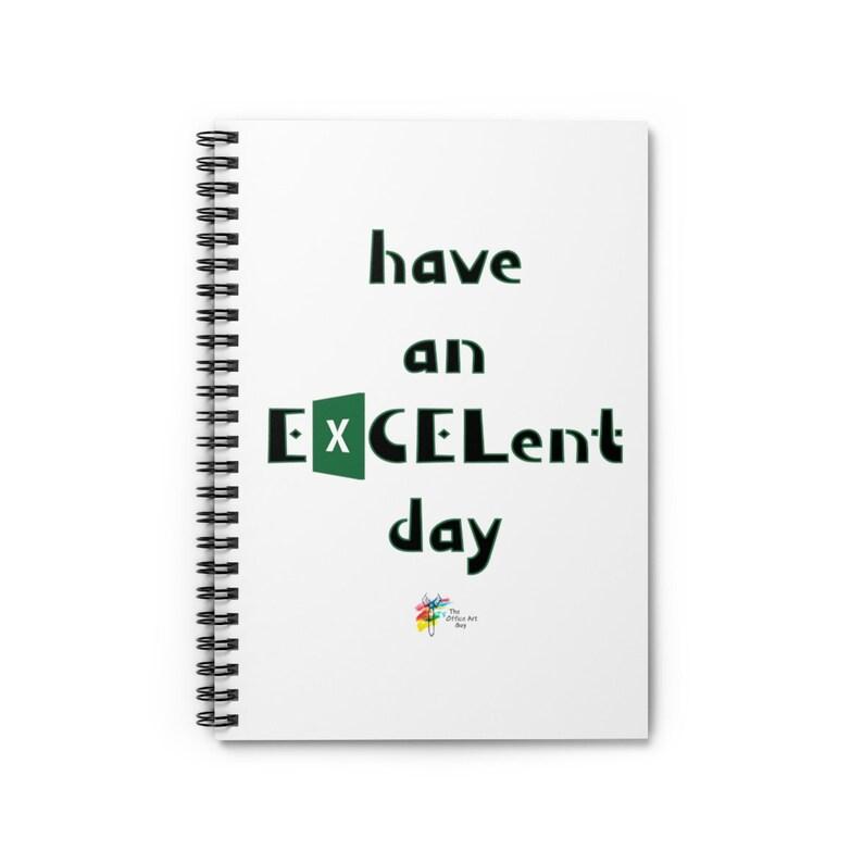 Excel Work Gift Spiral Notebook Spiral Notebook