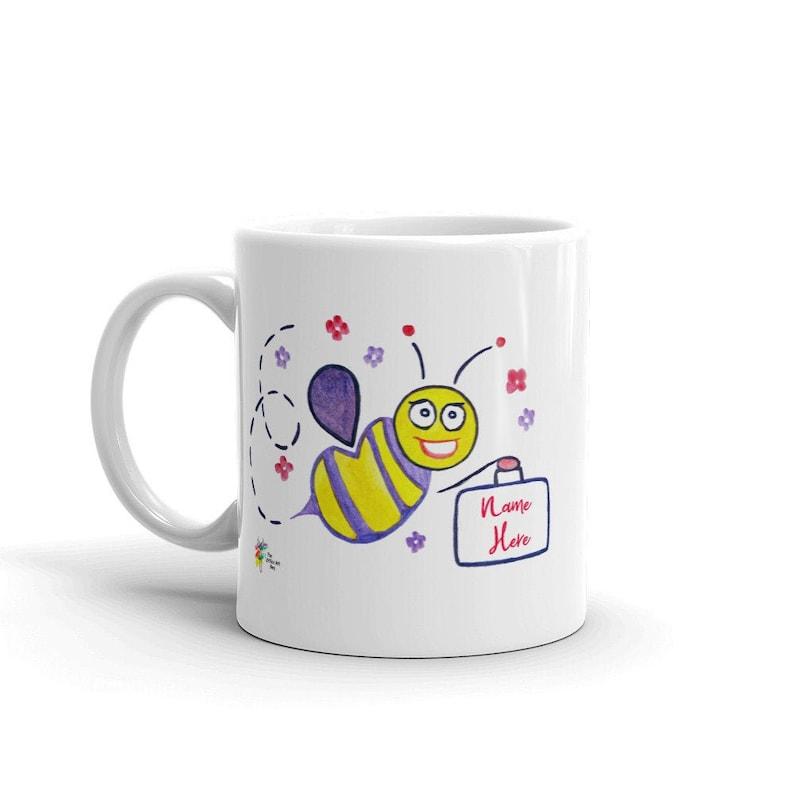 Custom Staff Mug Worker Bee Female image 0