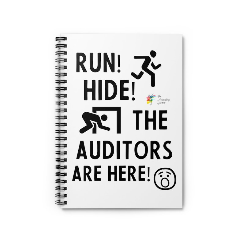 Spiral Notebook for Auditors Spiral Notebook